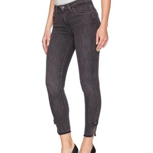 NWT Levi's 501 Taper Cropped Button Fly Jeans